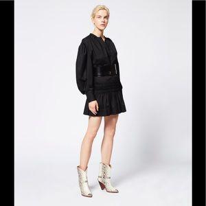 Isabel Marant Oliko Mini Skirt Black